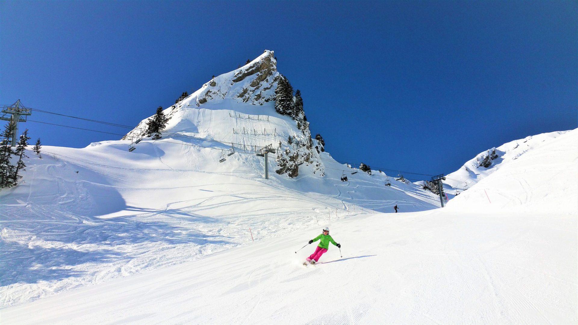 Ski alpin - Praz de Lys Sommand
