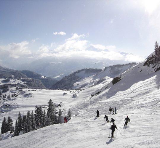 Ski alpin Praz de Lys Sommand