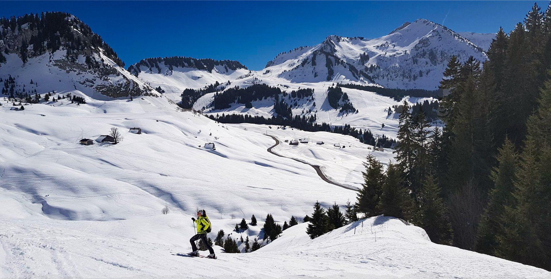 Ski de randonnée - Praz de Lys Sommand