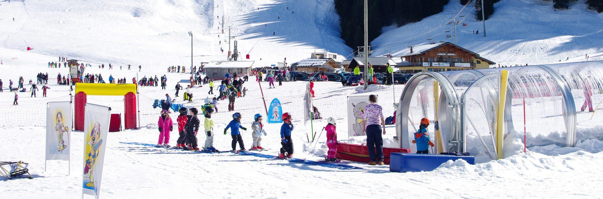 Ski pour débutant - Praz de Lys Sommand