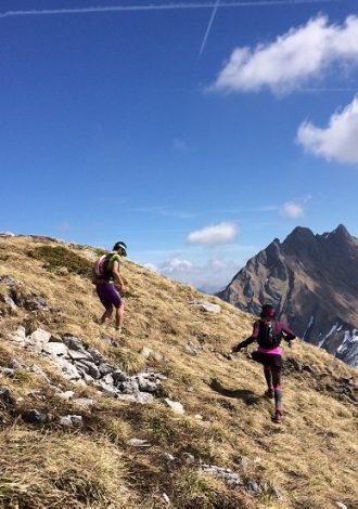 Trail à Praz de Lys Sommand