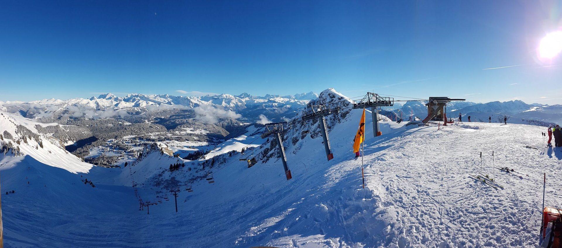 Domaine skiable - Praz de Lys Sommand