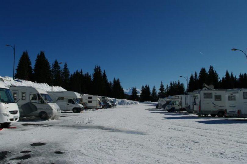 Aire Accueil Camping Car - Praz de Lys Sommand