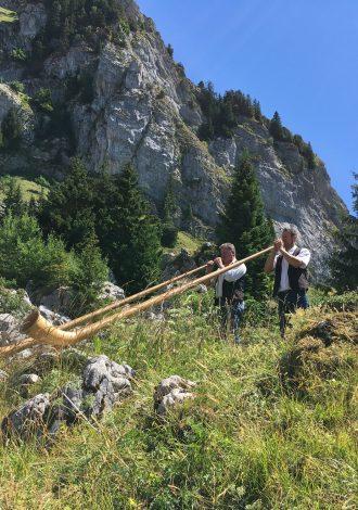 Cors des Alpes - Fête de l'alpage de la Charmette Sommand