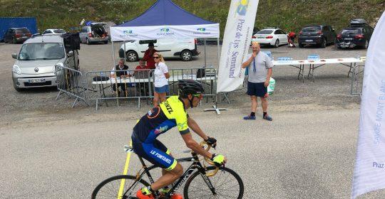 Grimpée cycliste de la Ramaz Praz de Lys Sommand