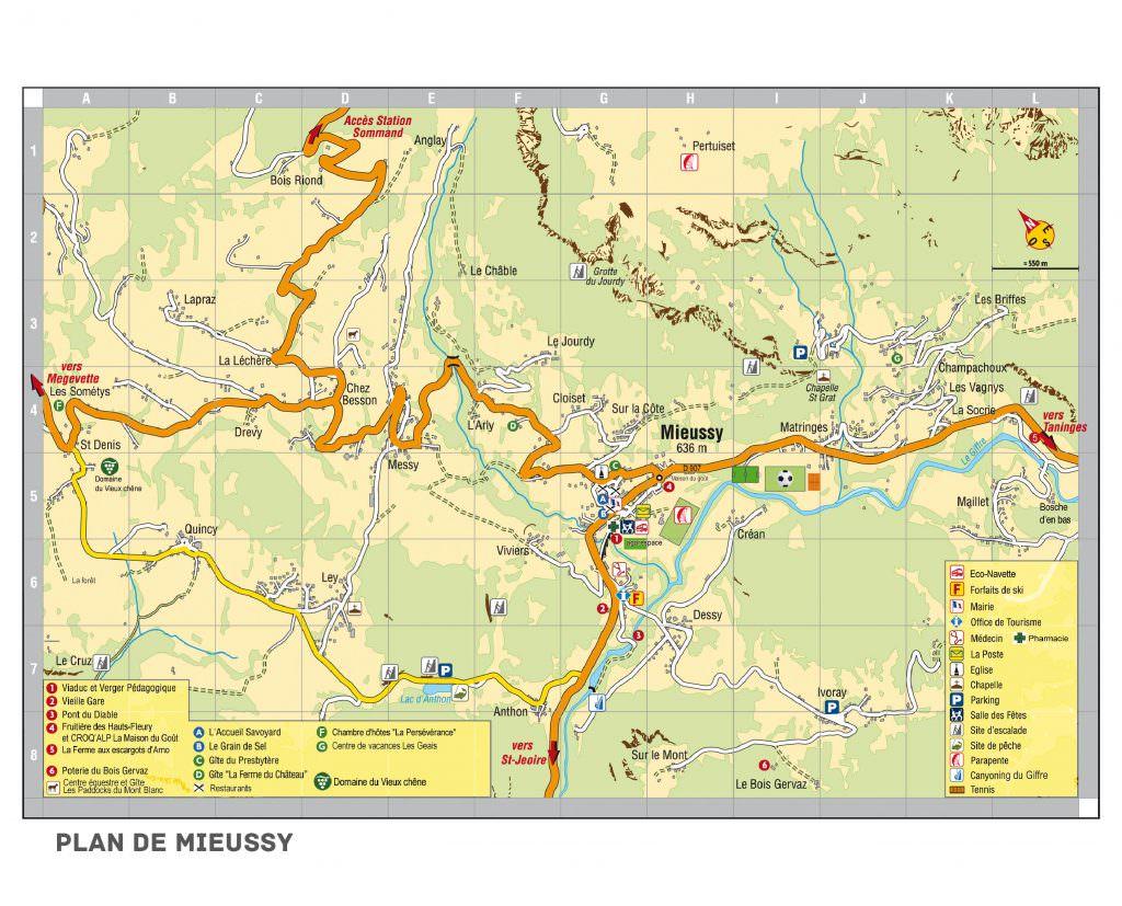 Plan de Mieussy