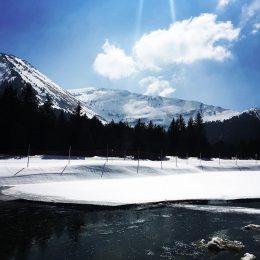 Paysage d'hiver Praz de Lys Sommand