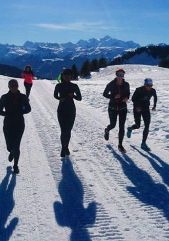 Trail Blanc à Praz de Lys Sommand
