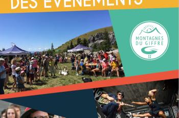 Agenda 2019 des Montagnes du Giffre
