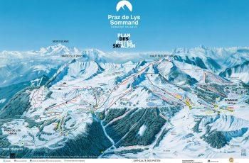 plan des pistes Alpin 2019-2020