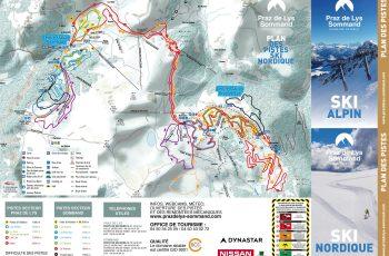 plan des pistes ski de fond 2019-20202