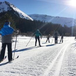 Ski de fond Praz de Lys Sommand