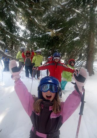 Ski Alpin Enfant Praz de Lys Sommand