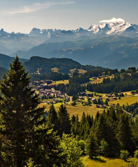 Mont-Blanc depuis Praz de Lys Sommand - Gilles Piel