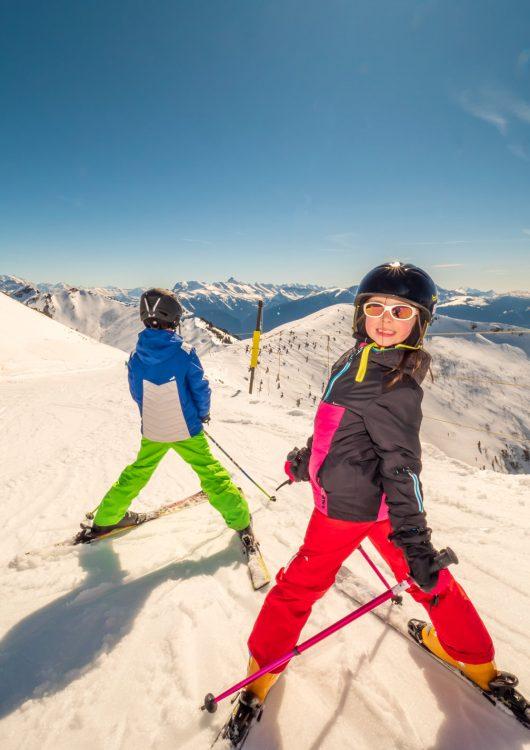 Ski Alpin en famille - Praz de Lys Sommand