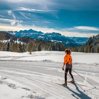 010 02 20 Ski de fond Praz © Gilles Piel