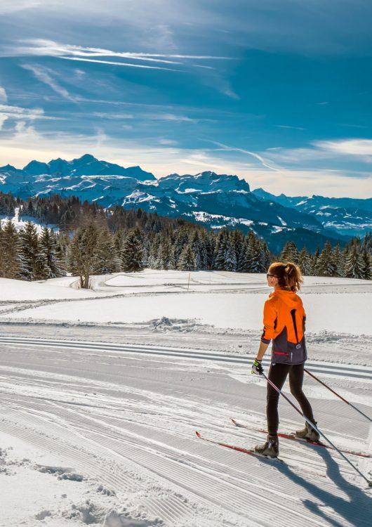 Ski de Fond - Praz de Lys Sommand