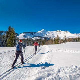 031 02 20 Ski de fond Praz © Gilles Piel