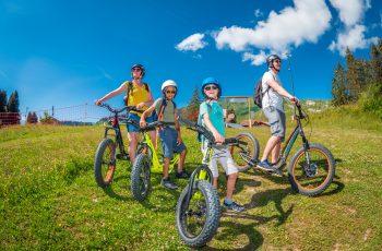 L'été à 2 roues - Praz de Lys Sommand & villages - été 2020