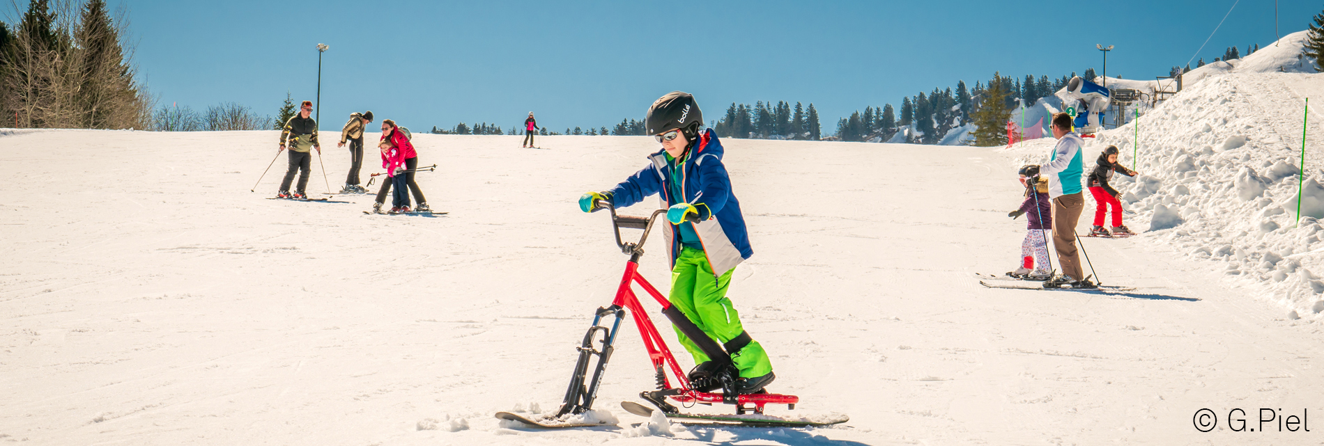 01303 20 Praz Snowscoot ©Gilles Piel